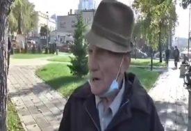 """""""KAKO NA KOJI NAČIN, IME MOJE KRŠTENO"""" Pitali djeda kako će da proslavi slavu zbog korone, njegov odgovor postao hit (VIDEO)"""