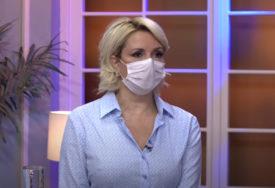 """""""EPIDEMIOLOŠKA SITUACIJA ALARMANTNA"""" Dr Kisić ističe da kada bi svi nosili maske, druge mjere NE BI BILE POTREBNE"""