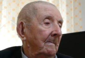 """""""ČOVJEK MORA BITI DOBAR I POŠTEN DA BI OPSTAO"""" Djeda Borivoje savjetuje kako da dočekate 100. rođendan"""