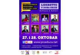 ODGOVOR NA KORONA KRIZU Poslovni forum menadžera 2020: ReThink & ReStart