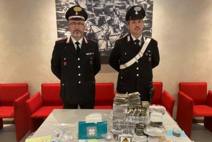 KARABINJERI GA PRATILI DANIMA Diler iz Srbije uhapšen u Italiji sa dvoje saradnika, zaplijenjeno više od 11 KG DROGE