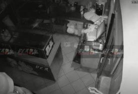 PROVALNIK DOŽIVIO PEH Pokušao da onesposobi kamere u fast fudu, pa završio na PODU (VIDEO)