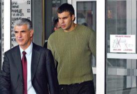 Optužen da je tukao bivšu djevojku: Ponovo odloženo suđenje bivšem košarkašu Miladinu Kovačeviću