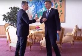 NOVE PROZIVKE Ne smiruju se tenzije između Milanovića i Plenkovića