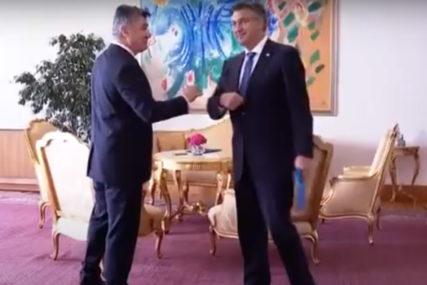 STRASTI SE NE SMIRUJU Milanović: Pitajte Plenkovića da li mu je neprijatno