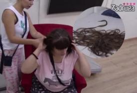 OČAJNA ZBOG NOVOG IZGLEDA Nakon raskida sa Zolom Miljana skratila kosu, MORALI DA JE TJEŠE
