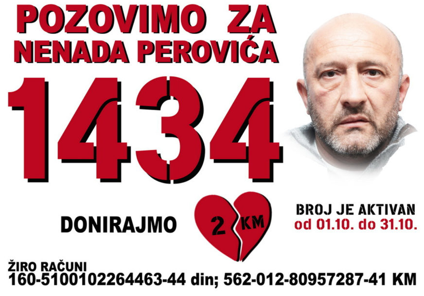 U PORODICI RADI SAMO SUPRUGA, A SIN JE STUDENT Nenadu Peroviću neophodan novac za transplantaciju bubrega
