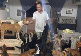 SPASIO MNOGE SIGURNE SMRTI Pužio je utočište stotinama pasa, mačaka i koza