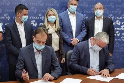 OČUVANJE PRIRODNIH RESURSA Ekološka partija RS i PDP potpisale sporazum o saradnji