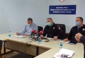 PU TREBINJE POJAČANA SA 25 SLUŽBENIK Više policajaca na ulicama u Istočnoj Hercegovini