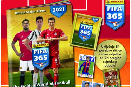 """""""EUROBLIC"""" POKLANJA Uz primjerak novina 14. oktobra dobićete album i sličice """"FIFA 365 2021"""""""