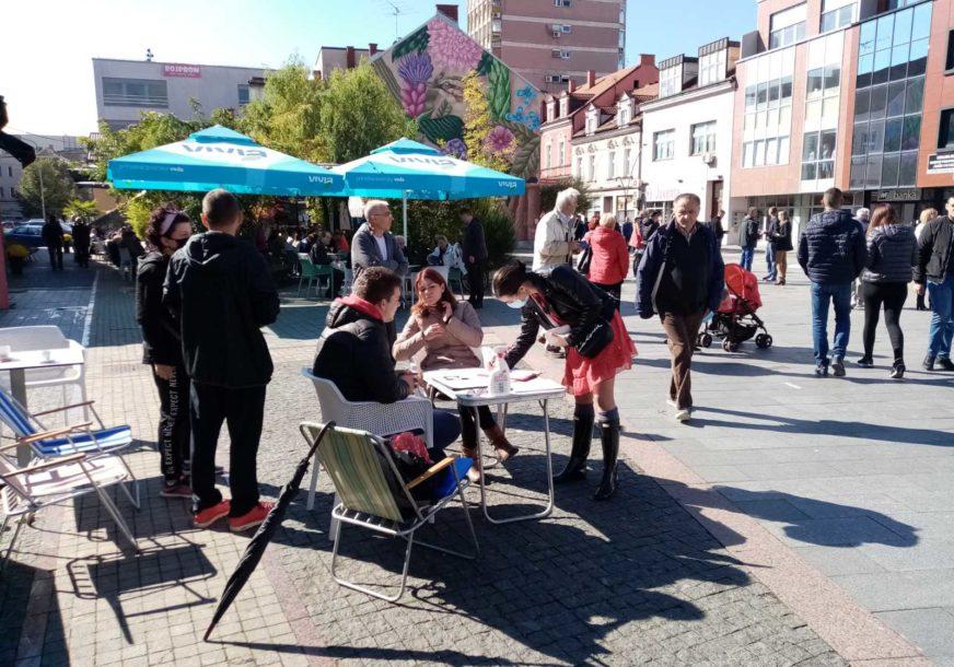 PROTIVE SE IZGRADNJI BENZINSKE PUMPE NA OBALI SANE U centru Prijedora počelo prikupljanje potpisa građana