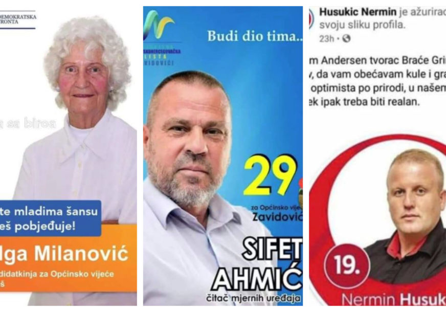 INOVATIVNI SLOGANI Bura na društvenim mrežama zbog plakata kandidata (FOTO)