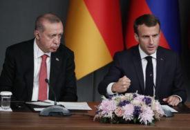 POVUKLI AMBASADORA IZ TURSKE Francuska osudila Erdoganovu izjavu o Makronovom mentalnom zdravlju