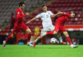 ORLOVI ISPUSTILI POBJEDU Prokockali dva gola prednosti u Istanbulu