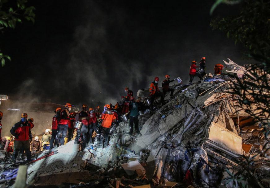 BROJ ŽRTAVA PORASTAO NA 116 Okončana potraga za preživjelima ispod ruševina u Turskoj