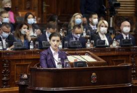 SRBIJA DOBILA NOVU VLADU Brnabić: U prvih 100 dana vidjećete konkretne rezultate