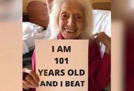 BAKA HEROJ Anđelina ima 101 godinu, pobijedila je tri smrtonosne bolesti, a sada i KORONU (FOTO)