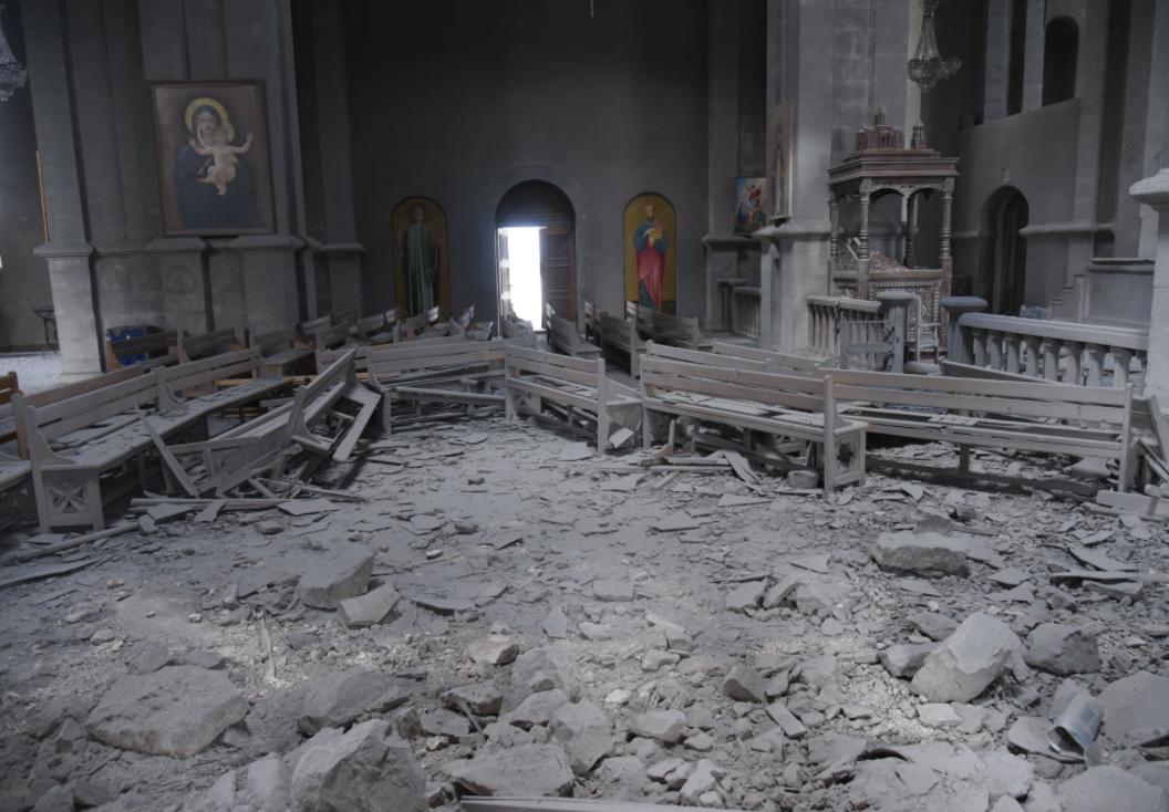 SRUŠENA SVETINJA Azerbejdžan u raketnom napadu RAZORIO PRAVOSLAVNU CRKVU (FOTO) - Srpskainfo