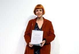 INSPIRACIJU PRONAŠLA U FILMOVIMA POLANSKOG Nagrada Muzeja savremene umjetnosti Danijeli Mihić