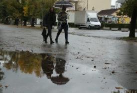 NIGDJE BEZ KIŠOBRANA Danas oblačno vrijeme i padavine