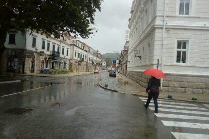 Meteoalarm izdao narandžasto upozorenje: U Trebinju i Mostaru i do 60 litara kiše