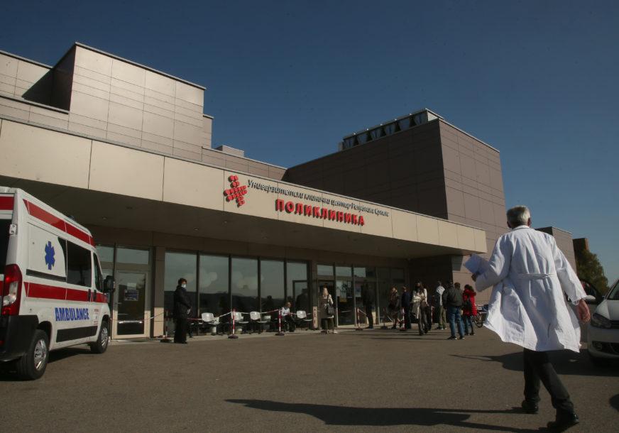 Pacijent se liječio na kovid odjeljenju: Detalji samoubistva u UKC RS