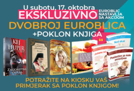 """""""EUROBLIC"""" NASTAVLJA SA AKCIJOM Uz vikend dvobroj potražite jednu od sedam poklon knjiga"""