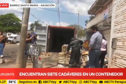 IZ SRBIJE PREKO HRVATSKE OTIŠLI U SMRT Istraga smrti sedmorice muškaraca u kontejneru