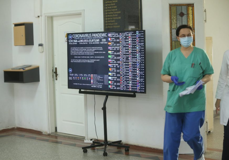 CRNE BROJKE U SRPSKOJ Na korona virus pozitivno još 437 osoba, pet osoba preminulo
