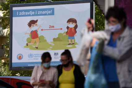 ODRAZ NEPOŠTOVANJA MJERA Epidemiološka situacija u Crnoj Gori veoma ozbiljna