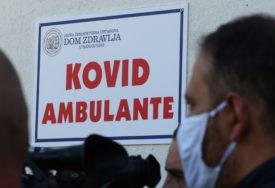 POČELA SA RADOM KOVID AMBULANTA Prvog dana pregledano 30 pacijenata