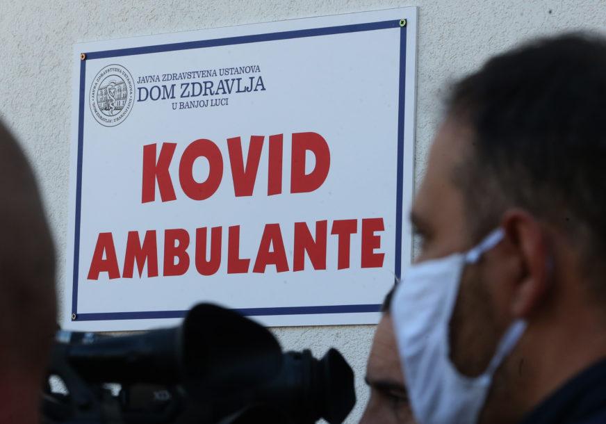 Zbog smanjenog obima posla Kovid ambulante rade u drugačijem režimu