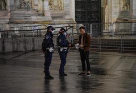 ITALIJA UVODI POLICIJSKI ČAS Zabrana kretanja noću osim uz potvrdu