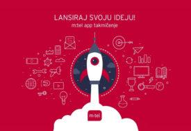 """LANSIRAJ SVOJU IDEJU"" Otvoren konkurs za m:tel App takmičenje"