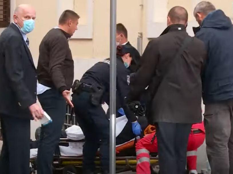 POVEZAN SA PUCNJAVOM NA MARKOVOM TRGU Uhapšena osoba zbog napada na zgradu Vlade Hrvatske