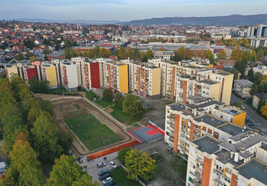 OAZA ZA REKREATIVCE Građani dobili nove sadržaje, od staze za trčanje do terena za basket (FOTO)