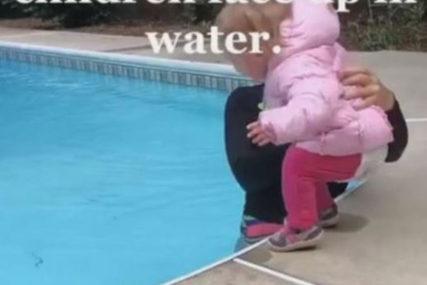 """""""TREBA UHAPSITI OVU ŽENU"""" Način na koji instruktorka uči dijete (1) da pliva mnoge je šokirao (VIDEO)"""