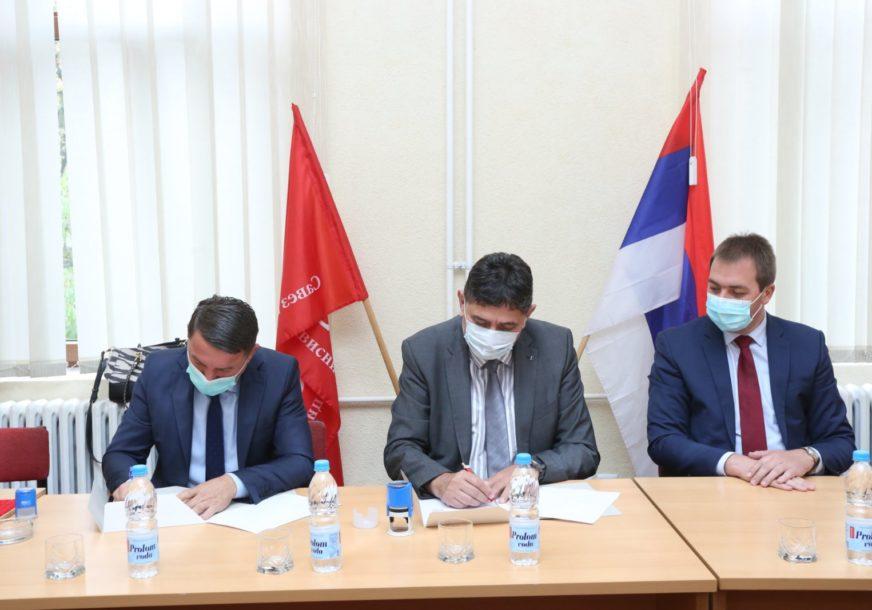 PODRŠKA DRLJAČI SPS potpisala sporazum o koalicionom djelovanju u Novom Gradu