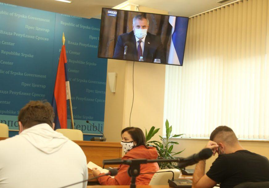 """""""MJERE DONOŠENE NA VRIJEME"""" Višković apeluje da se građani pridržavaju preporuka protiv korone"""