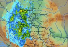 ŠTA SE DEŠAVA U REGIONU Radarska slika izgleda ZASTRAŠUJUĆE, temperatura u padu