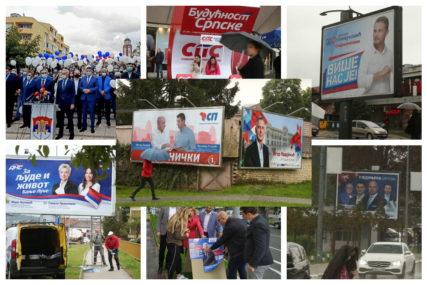 MILION MARAKA ZA OGLAŠAVANJE U MEDIJIMA Koliko su stranke potrošile u dvije sedmice kampanje