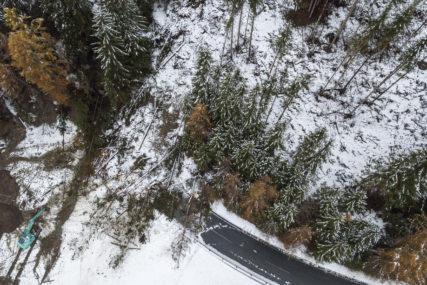 NEVRIJEME OBARALO DRVEĆE Snijeg u Sloveniji izazvao brojne probleme
