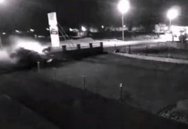 STRAVIČAN SNIMAK Ovako se dogodio udes u kojem je POGINUO MUŠKARAC (VIDEO)