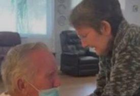 ZBOG KORONE SE NISU VIDJELI 215 DANA Emotivni susret supružnika RAZNJEŽIO SVE (VIDEO)