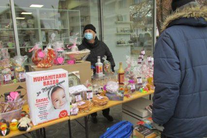 GRAĐANI JOŠ JEDNOM POKAZALI HUMANOST U Novom Gradu održan bazar za malu Minju