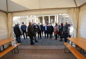 U SUSRET HLADNOM VREMENU Ispred svih KOVID AMBULANTI u Beogradu biće postavljeni ŠATORI
