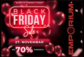 Samo ovaj vikend u TC EMPORIUM, Black Friday - DO 70% POPUSTA
