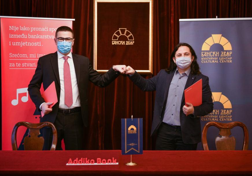 ČETVRTA GODINA USPJEŠNE SARADNJE Potpisan novi ugovor o partnerstvu Addiko banke i Banskog dvora u Banjaluci