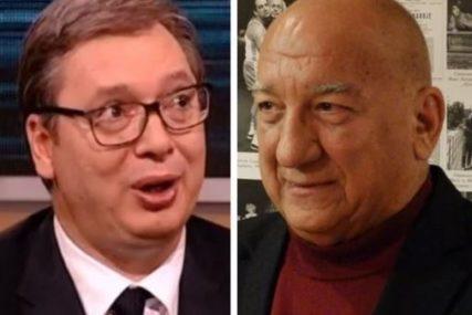 """VUČIĆ SE OGLASIO POVODOM SMRTI IVANA BEKJAREVA """"On je bio veliki čovjek i veliki glumac"""""""